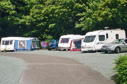 Caravan Club Site Crystal Palace