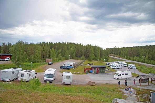 Campsite Polcirkelns Fiskecamp