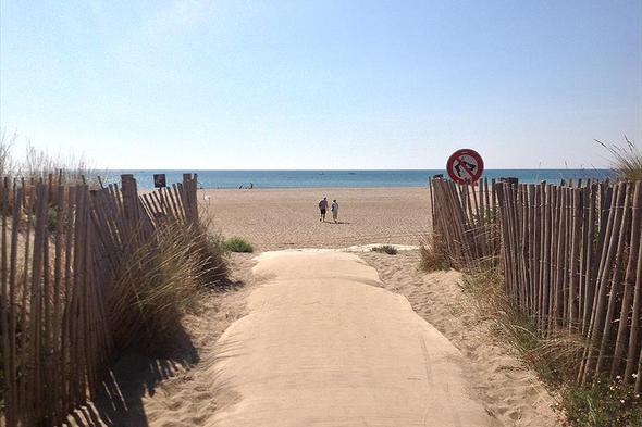 Campsite Palmira Beach