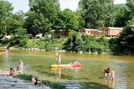 Campeggio Huttopia Millau