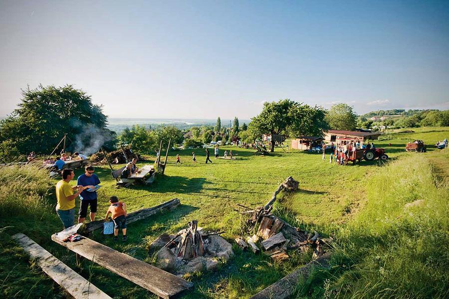Camping Lug ins Land-Erlebnis